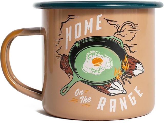 United By Blue Home on the Range Tasse Acier émaillé 355ml, terracotta
